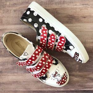 Alaska Teacup Puppy Polka Dot Velcro Sneakers